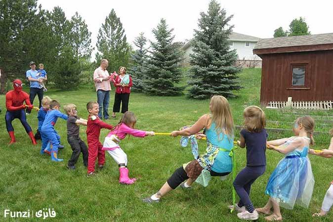 بازیهای گروهی کودکان