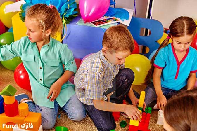 بازی های تیمی کودکان