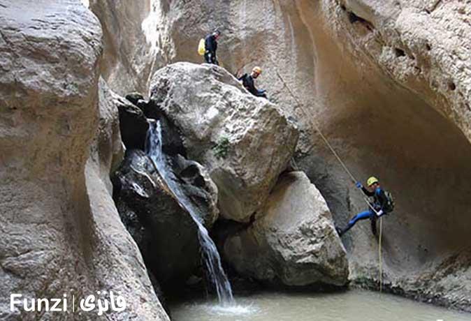 دره هرمو در دشتک استان چهارمحال