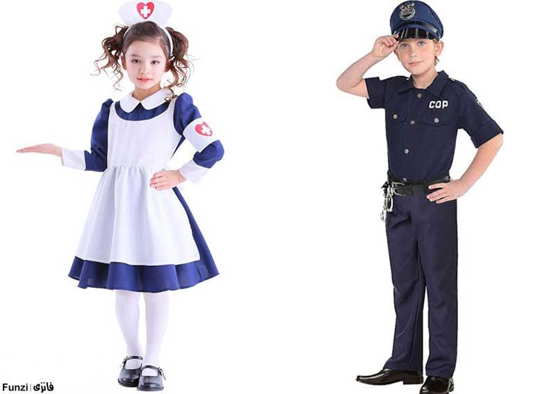شغل های پلیس و پرستار در شهرهای مشاغل