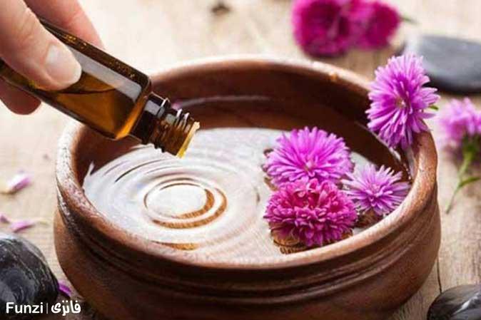 ماساژ درمانی آروما تراپی