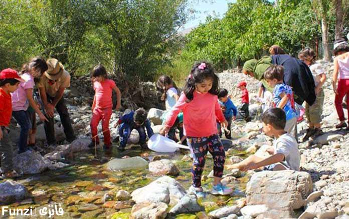 مدرسه های طبیعت در تهران
