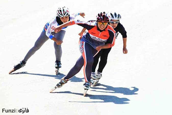 پیست اسکیت مجموعه ورزشی آزادی تهران