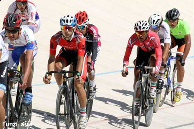 پیست دوچرخه سواری مجموعه ورزشی آزادی تهران