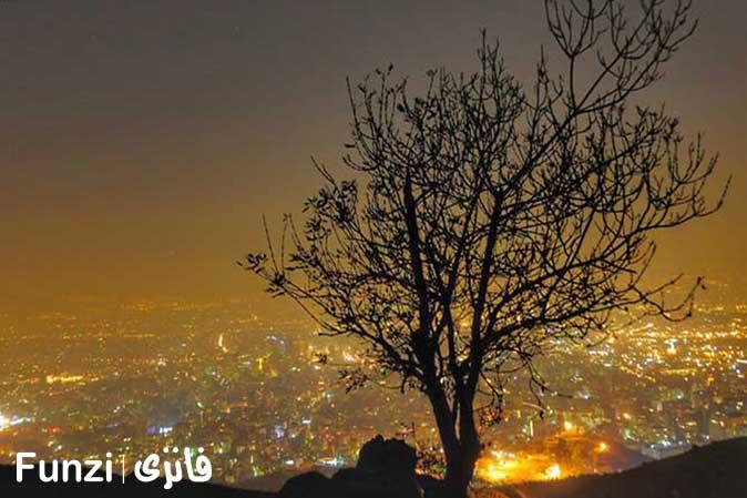 بام تهران توچال | تفریح در تهران