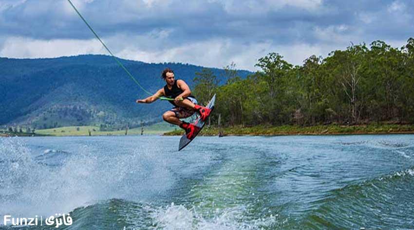 اسکی روی آب از تفریحات لاکچری