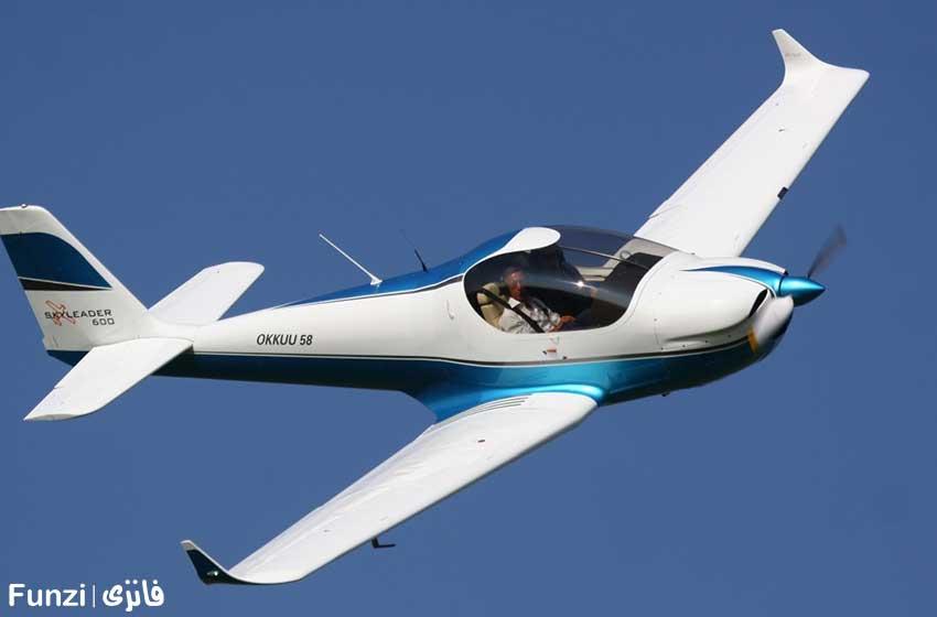 پرواز تفریحی با هواپیمای فوق سبک