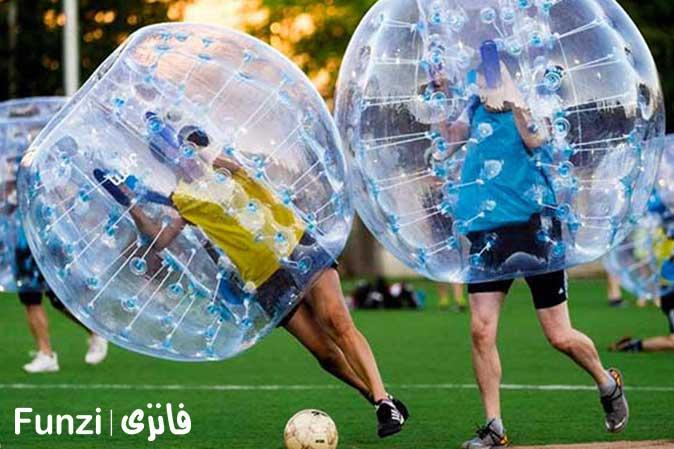 قوانین فوتبال حبابی
