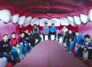 کودکان در هیومن پارک تهران