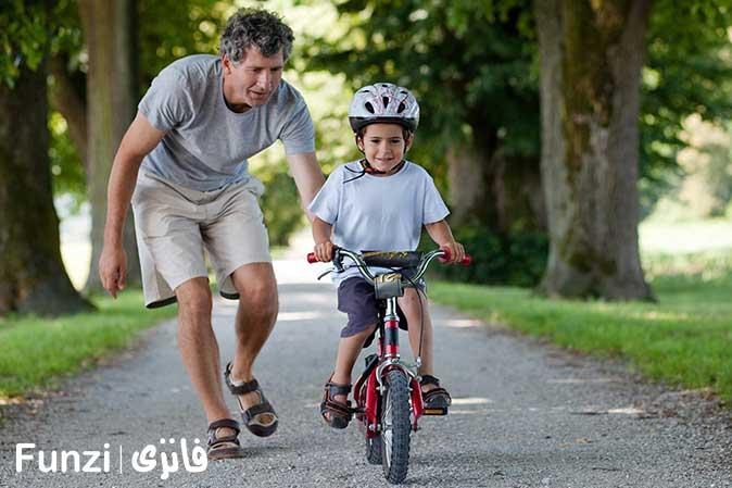 آموزش دوچرخه سواری کودکان 2
