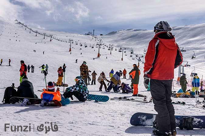 اسکی در توچال تهران
