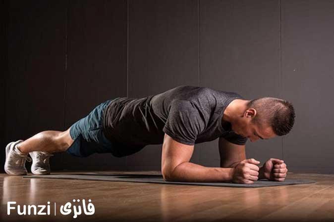 حرکت پلانک در آموزش یوگا