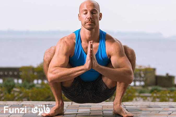 حرکت گارلند در آموزش یوگا