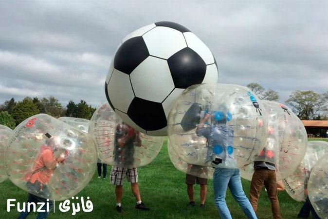 فوتبال حبابی | تفریح در تهران