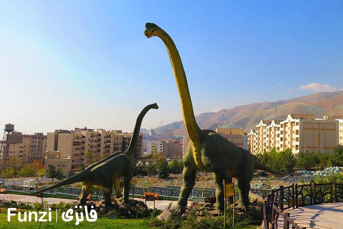 تفریح حیرتانگیز در پارک ژوراسیک تهران | تفریح در تهران
