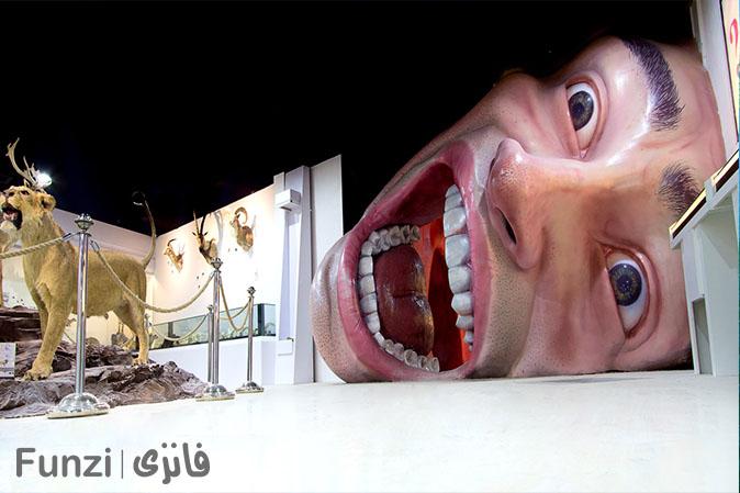 هیومن پارک، یکی از مکان های تفریحی کودکان در تهران