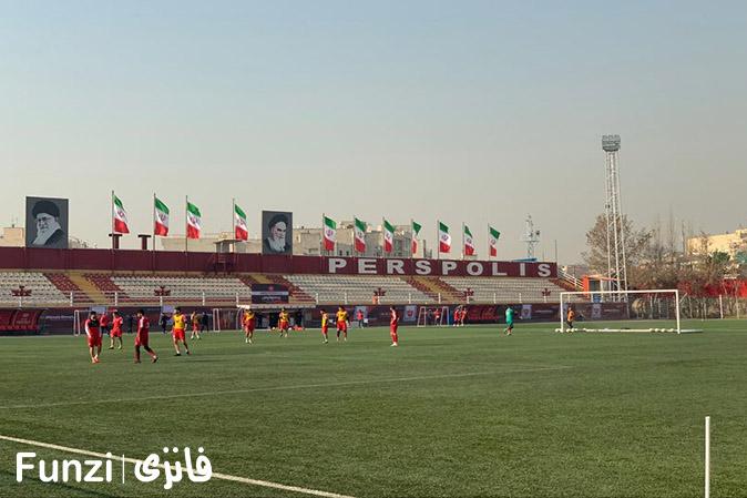 مدرسه فوتبال پرسپولیس تهران درفشی فر